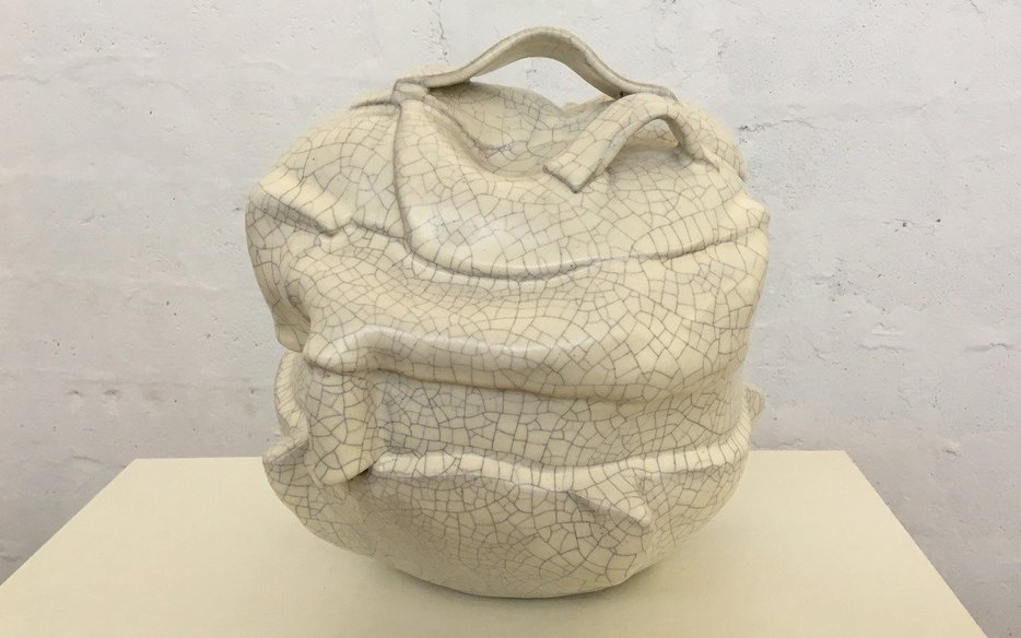May Ammoun, Cherchant sa forme, which won third prize at MACAM's Age of Ceramics Competition_Image courtesy of MACAM Lebanon.jpg