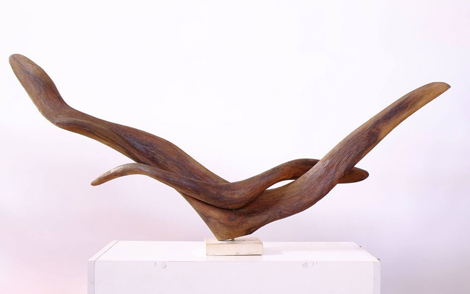 Youssef Basbous - Wood Sculpture