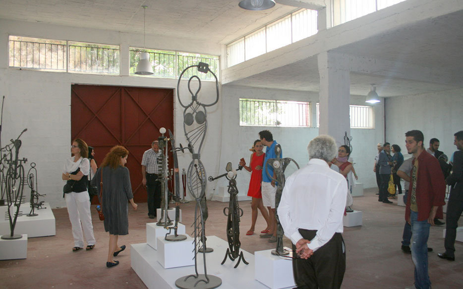 Temporary Exhibitions of renown Lebanese Artists
